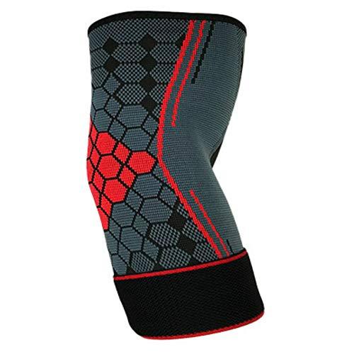 1 Stück Ellenbogenbandage - Atmungsaktiv/Schweiß Absorbent Schutz für Ellenbogen - Ellbogenschützer Elbow Support Arm Sleeve Kompression Armstulpe