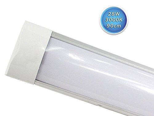 Plafoniere Per Tubi Neon : Vetrineinrete plafoniera led slim sottopensile tubo neon