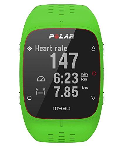 Polar GPS- Laufuhr M430 mit Herzfrequenzmessung grün (400) 000