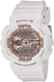 Casio Baby-G Watch For Women - Analog-Digital Ba-110-7A1Dr Resin
