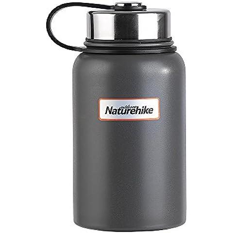 Hysenm-Bottiglia isotermica in acciaio INOX, senza BPA-Borsa