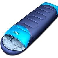 Otoño y Invierno Adulto sacos de dormir al aire libre Camping solo saco de dormir doble algodón saco de dormir de plumas de cuatro estaciones turismo interior, azul oscuro