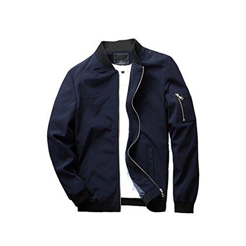 urbanfind-homme-mince-fit-casual-sport-lgre-veste-bombardier-blouson-eu-xs-bleu