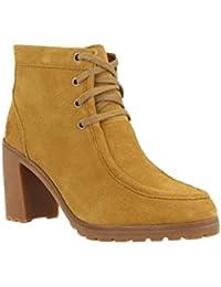 Timberland A18u8 Botas de Piel para Mujer, Color Amarillo