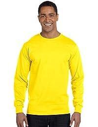 Hanes - T-Shirt à manches longues -  Homme