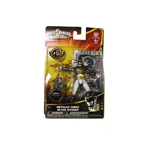 Power Rangers Megaforce Normal Black Ranger V2