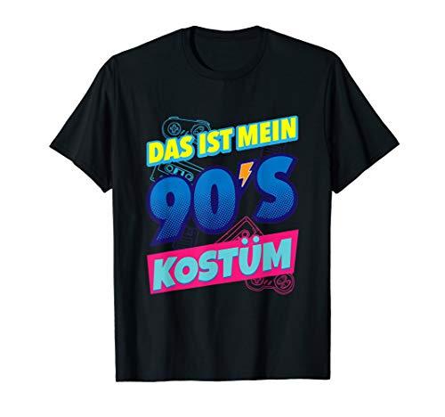 Neunziger Jahre Kostüm - Das ist mein 90er Jahre Kostüm neunziger Jahre Party Outfit T-Shirt