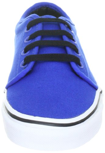 Vans U 106 Vulcanized, Baskets mode mixte adulte Bleu (Bleu-TR-B3-8)