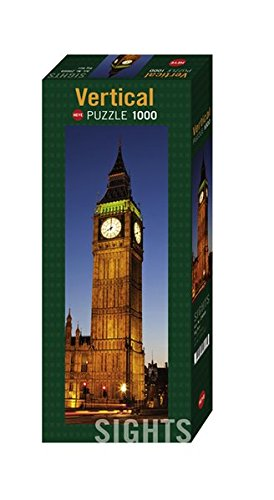 Heye 29668 - Vertikalpuzzle, Sights Big Ben, 1000 Teile