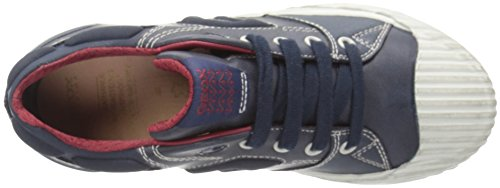 Geox Jungen J Alonisso Boy D Low-Top Blau (Navy/Redc0735)