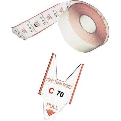 PRINTEX conf. 5 Rotolo x EliminaCode Rosso 2000tagliandi Tr/roll/rs