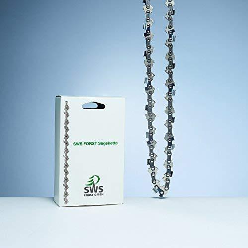 SWS forestal Sierra Cadena Larga cortar dientes 3/81,3mm 33eslabones compatible con DOLMAR, Echo...