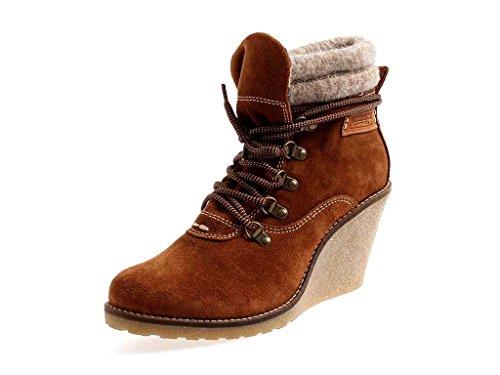 Tamaris TREND Keilstiefelette Stiefelette Lederstiefelette Leder Schuhe