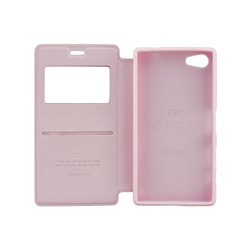 Roar 993560665 Handytasche Noble View für Apple iPhone 6G/6S Plus schwarz rosa