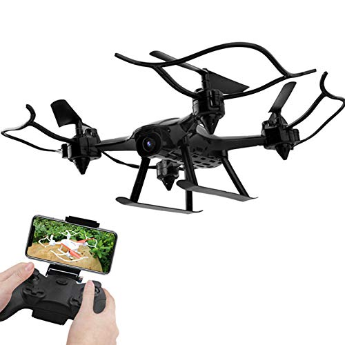 Aizihan RC-Drohne, 16 Minuten Lange Flugzeit WiFi FPV-Drohne Mit HD-Kamera, RC-Quadrocopter Für Anfänger Erwachsene, Höhenlage Halten, Schwerkraftsensor-Funktion,Schwarz