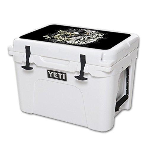 MightySkins Schutzfolie für Yeti-Tundra 35 qt Kühldeckel, Vinyl, Ying und Yang Silikon Skin Pack
