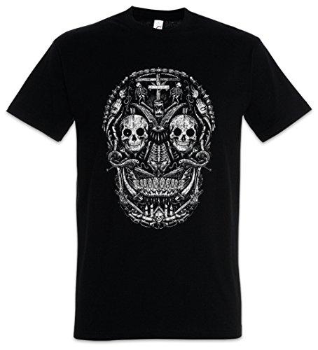 can Skull I T-Shirt - Größen S - 5XL (Sugar Skull Für Männer)