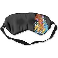 Comfortable Sleep Eyes Masks Fish Drawings Pattern Sleeping Mask For Travelling, Night Noon Nap, Mediation Or... preisvergleich bei billige-tabletten.eu