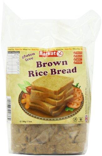 Barkat Gluten-Free Brown Rice Sliced Bread 500 G (Pack of 2) Test