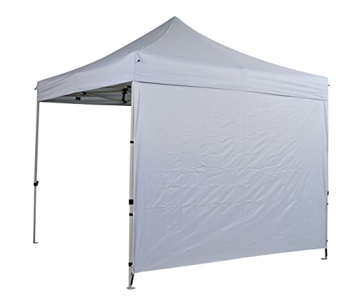 Kit Parete solida - ultra resistente bianco (300D) pareti / teli laterali, per tendone, Padiglione - Solid Wall Kit - Heavy Duty White (300D) 303x212cm 0.9kg side panel for gazebo. Parete laterale