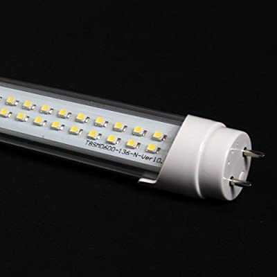 T8 120cm warm-weiß 120 Prozent mehr Licht durch 2835 SMD Chips G13 Leuchtstoffröhre Ersatz weiß 3000K hell 22W wie 36W Leuchtstofflampe Röhre Leuchte Lampe StückVDE von SN-Import - Lampenhans.de