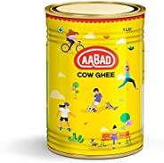 AABAD Natural Cow Ghee Tin, 1 L