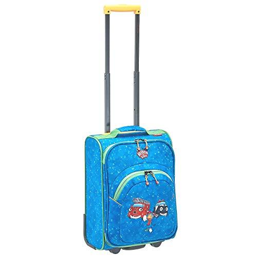 Travelite Robuste, fröhliche Kinderkoffer und Gepäckstücke Helden der Stadt machen jede Reise zum Abenteuer Kindergepäck, 24 Liter, Marine