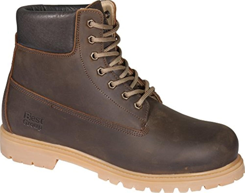 Mejor grupo Gust botas, marrón, EU 46