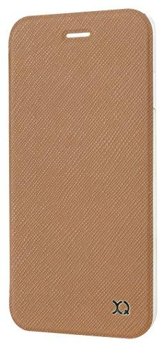 Xqisit Flap Cover Schutzhülle Adour für Apple iPhone 6 Plus / 6s Plus Braun