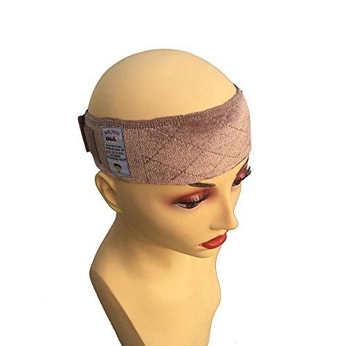 3 Farben Samt Perücke Griff Stirnband Verstellbare Perücken Haarverlängerungen Wig Grip Befestigung Perücke Schal Sport-Stirnband Fashion Haar-Accessoires für Frauen Bräunen