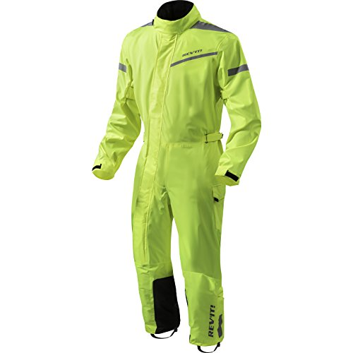 *Revit Einteilige Textilkombi Pacific 2 H2O, Farbe neongelb-schwarz, Größe XL*