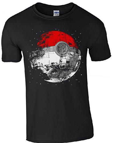 GILDAN - Camiseta - para hombre Negro negro Medium