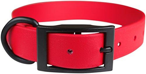omnipet-zeta-regular-dog-collar-with-black-metal-hardware-1-x-22-red