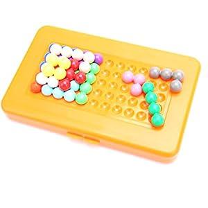Georgie Porgy Juegos de Mesa Puzzler Juegos Ingenio Juegos de Logica para Niños Adultos (IQ Puzzle Beads) Niños