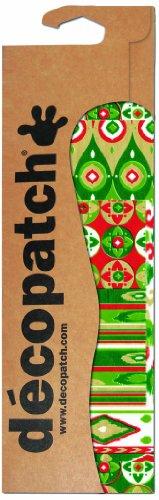 DecoPatch Papier, Fancy Pattern Print Grün/Rot/Weiß, 3Stück