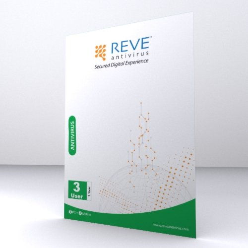 REVE Antivirus 3 PCs 1 year (1 mobile security free)