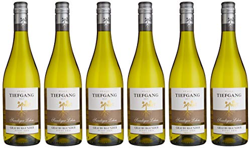 Tiefgang Qualitätswein Pfalz Grauburgunder Blanc Weißwein (6 x 0.75 l)