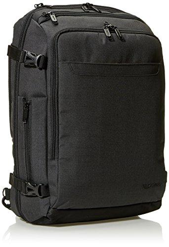 Best amazon backpacks in India 2020 AmazonBasics Slim Carry On Laptop Travel Weekender Backpack - Black Image 2