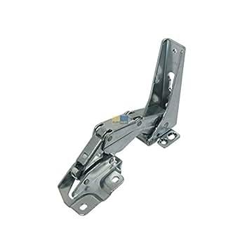 Electrolux 2211257015Hotte Accessoires Charnière de porte inférieur utilisés dans réfrigérateur/congélateur Combinaisons de refroidissement, Hettich 102475.0, groupe Electrolux/AEG 2211257015