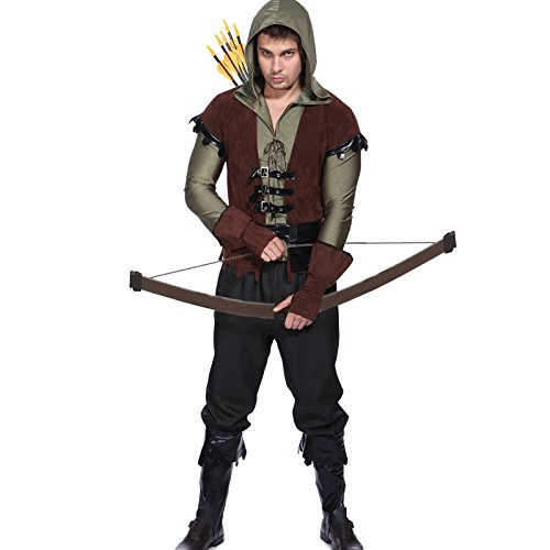 TV SHOW COMIC Gr.M Oliver Queen Garnitur Kaputzenjacke Arrow Herren Kostuem Fasching - Halloween-kostüme-tv-shows