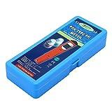 JENOR Tester digitale palmare PH tester termometro a penna temperatura Celsius 0.00-14.00 pH gamma ATC + 2 soluzioni tampone