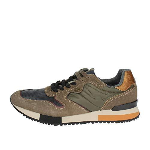 WRANGLER Scarpe Uomo Sneaker Forest Suede in camoscio Beige WM182115-TAU