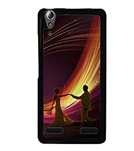Fuson Premium Join To Dance Metal Printed with Hard Plastic Back Case Cover for Lenovo A6000