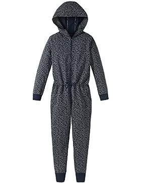 Schiesser Mädchen Einteiliger Schlafanzug Mix & Relax Jumpsuit