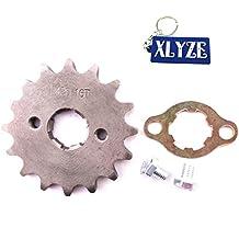 XLYZE 420 16 dientes 20mm engranaje de la rueda del motor delantero Gear para chino 50cc