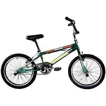 F.lli Schiano Hard Road BMX - Bicicleta para Hombre, Color Verde Oscuro/