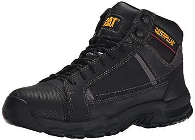 Caterpillar Men's Regulator Steel Toe Work Boot, Black, 7.5 M US