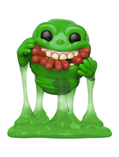 Funko- Pop Vinyl: Ghostbusters: Slimer w / Hot Dogs Collectible Figure, (39333)