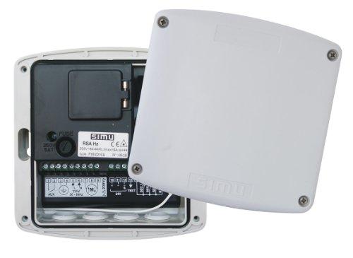 Simu (Somfy ) RSA Hz02 Funk Garagentorsteuerung für Rolltor, Sektionaltor, Schwingtor, Garagentor, Rohrmotor, Rolladenmotor (Hz02 Funksystem + SOMFY RTS)