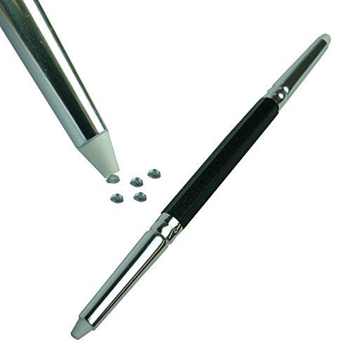 GS-Nails Picker Upper Schwarz + 50 Strasssteine, NailArt Strassapplikator Werkzeug Tool ...